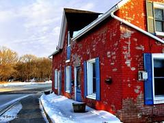 Warkworth Ont. (gabi-h) Tags: house snow ontario home shutters gable warkworth gabih