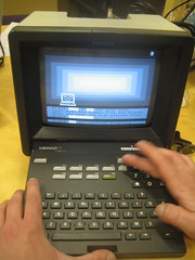 Minitel videotex in action