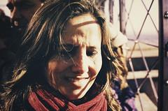 mom (Fbio Lamounier) Tags: light portrait sunlight film female analog 35mm canon vintage cross ae1 fabio retro velvia flare 100 process fujichrome processed heloisa lamounier