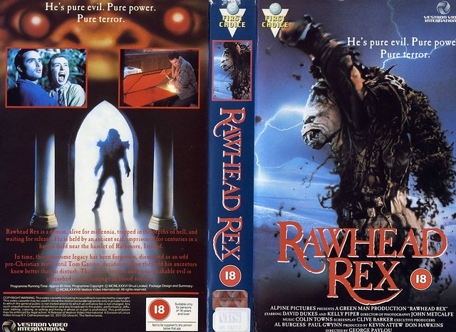 Rawhead Rex (cover 2) (VHS Box Art)