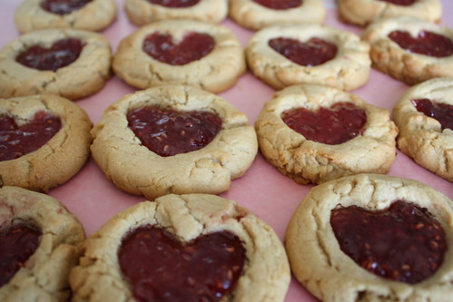Peanut Butter and Jelly Cookies | Heather Christo