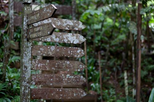 Sign, Lok Kawi Botanical Garden