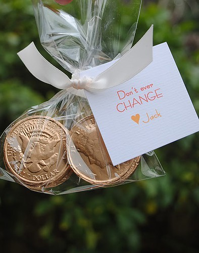 chocolate coins valentine