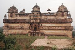 The palace  2   הארמון (אסף פולק asaf pollak) Tags: old india ancient palace pollack assaf orchha הודו ארמון עתיק אסףפולק asafpollak madiapradesh מאדיהפראדש אורצהה אורצה