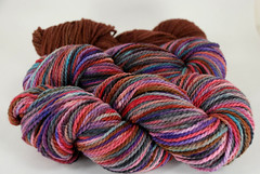 """Penelope"" 8.3oz Mountain Meadow Wool + 2.6oz trim"