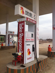Gas Station in Jalalabad