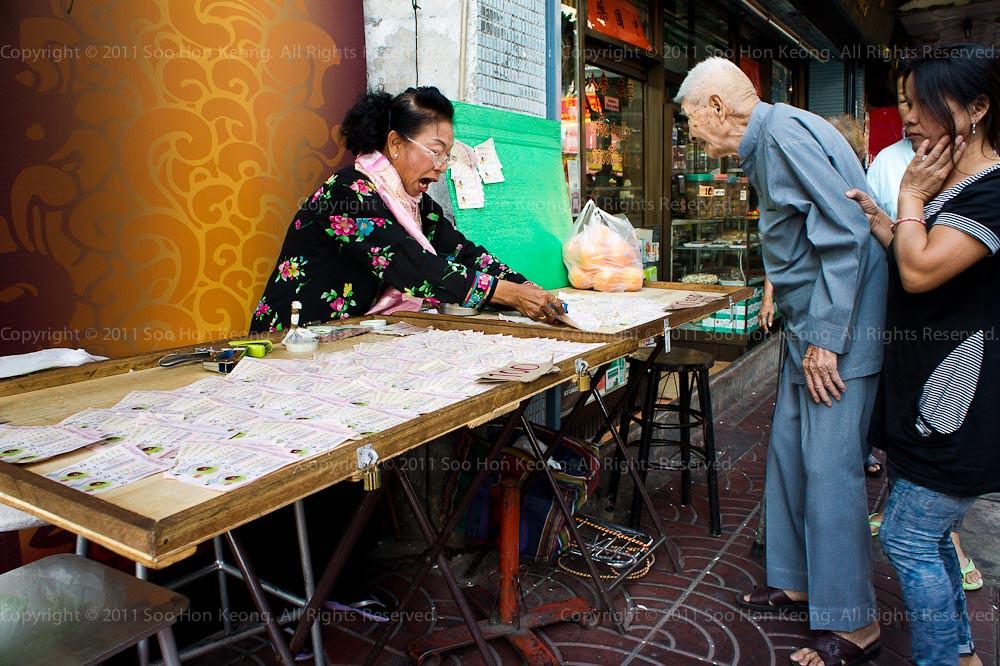 Lottery Seller @ Bangkok, Thailand