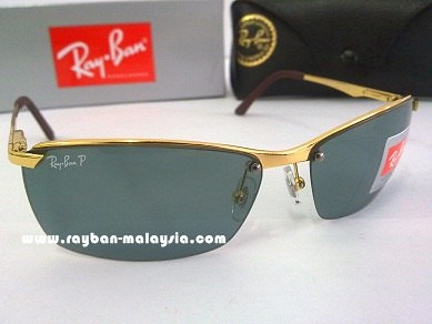 RB 3359 Gold Polarized 2