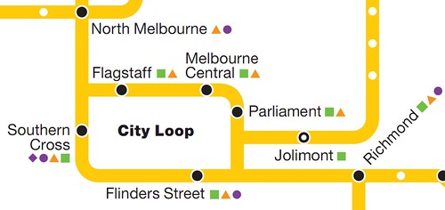 Map of City Loop