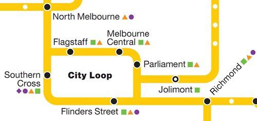 Map of City Loop