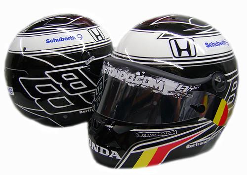 Bertrand Baguette's 2011 helmet design