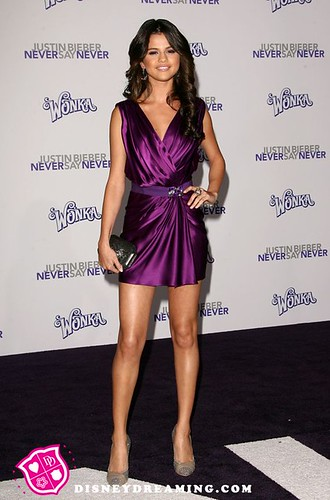 Selena Gomez Justin Bieber Never Say Never Movie Premiere