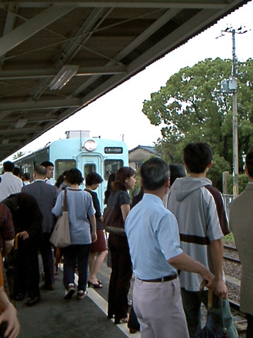 和田岬線和田岬駅1999年6月