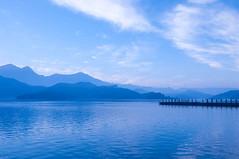 DSC_8242 (agent orange2006) Tags: seascape water sunrise landscape dawn pier nikon asia jetty stock taiwan dslr 台灣 风景 風景 水 台湾 日月潭 sunmoonlake 日出 摄影 攝影 d90 朝雾码头