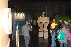 (The Tinkering Studio) Tags: cardboard cardboards jasonlentz openmake giantcardboardrobots