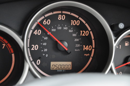 50,000 miles on the odometer