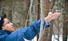 Arrival (EMuliadi) Tags: family winter ontario canada water birds canon waterfall hilton falls handheld xs milton tamron f28 photograpy 2875 1000d