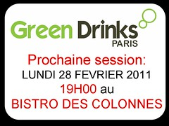 Session GREEN DRINKS PARIS 31 12 2011
