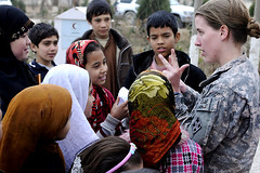 Count off (The U.S. Army) Tags: afghanistan army women aid soldiers programs mazaresharif