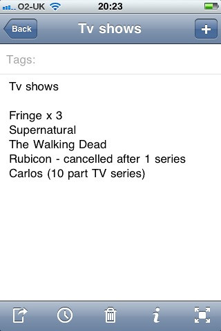 TV shows to watch, mainly for DVD boxsets