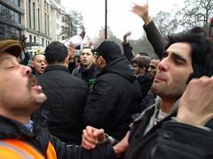 P2200379 (pete riches) Tags: freedom peace northafrica islam banner protest demonstration civilwar revolution dictator libya tripoli slogan placard stopthewar benghazi ukpolitics 25feb stwc 17feb gadaafi peteriches qadaafi