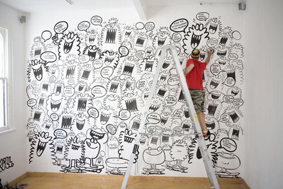 monstruos ilustrados