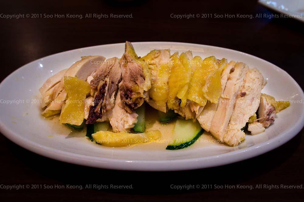 Hakka Salted Steam Chicken @ Pavilion, KL, Malaysia