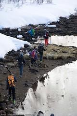Just landed (Svinya Rorbuer) Tags: ski vinter rib fisk svinya trollfjorden