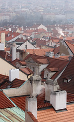 praha1102_22 (mikina14) Tags: prague praha roofs chimneys stechy komny