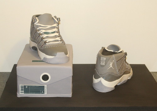Air Jordan Retro 11 Cool Grey Cake