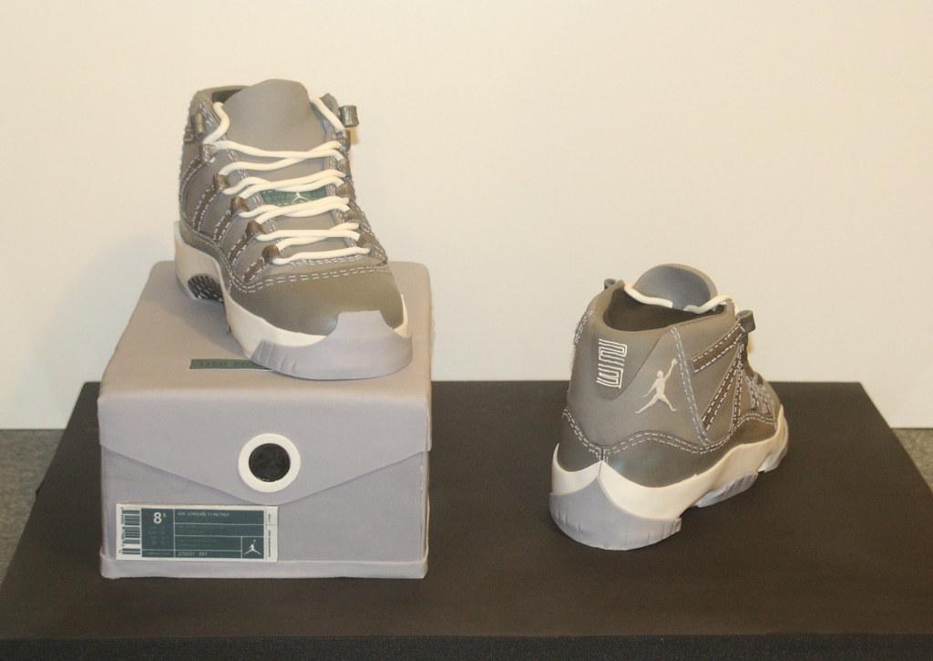 Air Jordan Retro 11 Cool Grey Cake