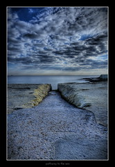 pathway to the sea (wautierp) Tags: nikon malta d300 acdsee