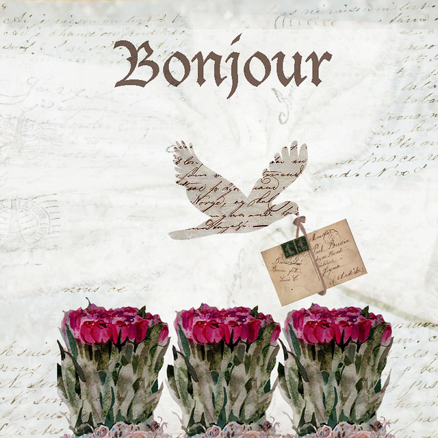 bonjour with my french background