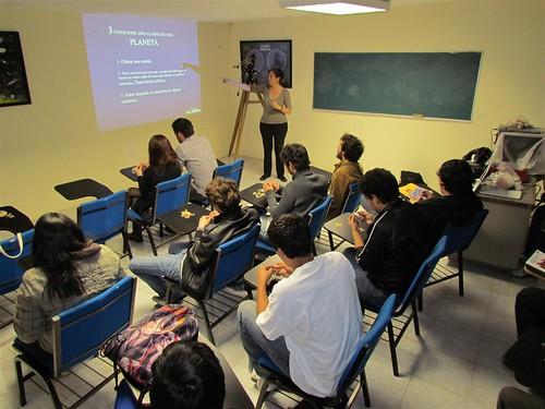 Club de Astronomía, Zacatecas, México