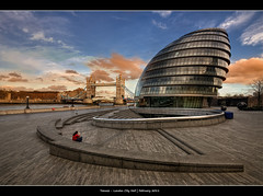 306/365 - City Hall London.@.1250x800 (Pawel Tomaszewicz) Tags: camera city uk bridge wallpaper england sky london tower colors beautiful architecture clouds photoshop canon photography eos hall photo europe foto view angle image photos wide picture wideangle ps images x 1200 800 hdr hdri anglia iphone pawel cs3 ipad londyn architektura chmury 3xp photomatix greatphotographers wyspa wyspy eos400d 1200x800 tomaszewicz paweltomaszewicz