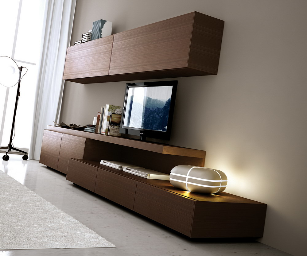Mueble Modular Mesa Rack Living LCD Progetto Mobili  Capital Federal