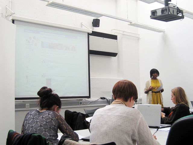 blogging lecture