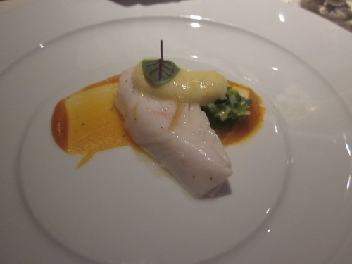 Baume - Palo Alto - February 2011 - Halibut, Curry, Leeks