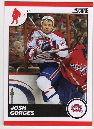 Score - Josh Gorges front