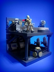Mission 4.1 (jestin pern) Tags: fiction trooper star lego space science mission fi wars clone sci 41 blaster lieutenant nar conquering pyne shaddaa