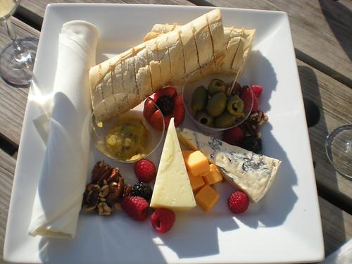 Cheese plate at Veritas