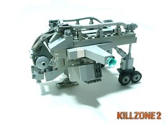 Project Killzone. (Lego Junkie.) Tags: 2 two lego helghast killzone dropship