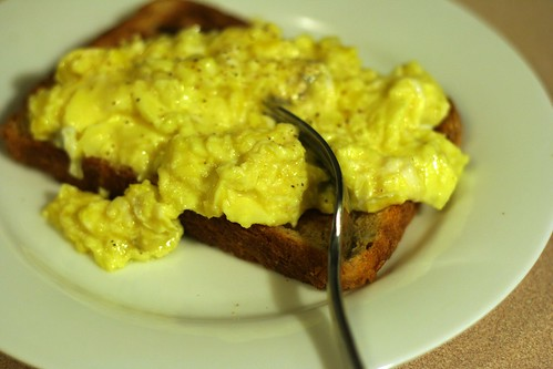 Humboldt Fog Scrambled Eggs