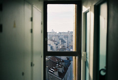 hallway views (beardo creeps) Tags: christmas paris france cold film nikon holidays f100 nikonf100 wanders beardocreeps