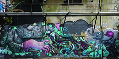 Bom k Mask Kalees DMV RFK UDN (kalees one) Tags: paris graffiti mask greetings perso dmv rfk udn kalis bomk