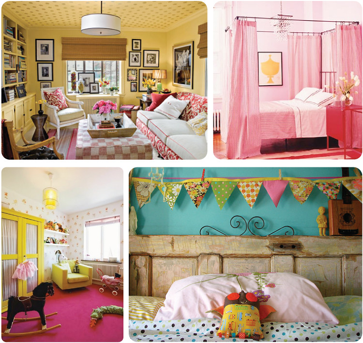 Pink + Yellow