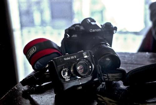 Friend's cameras