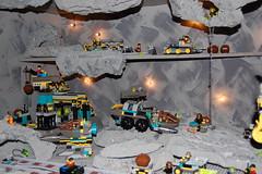 Overview (LegoMathijs) Tags: rock lego space raiders miners moc rockraiders