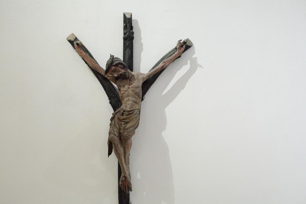 crucifix from Moravský Krumlov, 1340s
