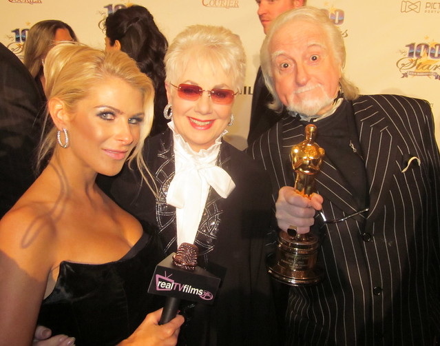 Jennifer Lexon, Shirley Jones, Marty Ingels, Night of 100 Stars Oscar Party 2011